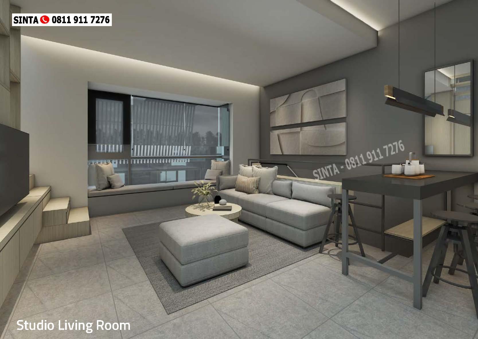 Impresahaus Tabebuya Bsd City Studio Living Room